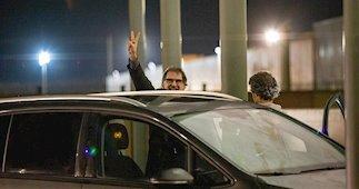 Jordi Cuixart sale de la cárcel con un permiso de 48 horas