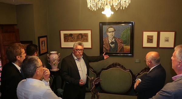 Nueva sala modernista dedicada a José Hurgado de Mendoza en la Casa Museo Tomás Morales