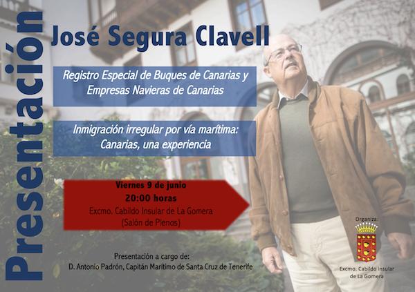 José Segura Clavell presenta sus dos últimos libros este viernes