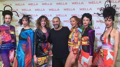 Juan Castañeda fascina en la Gala Internacional de Wella