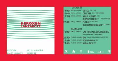 El festival Keroxen vuelve a Lanzarote con un cartel de lujo