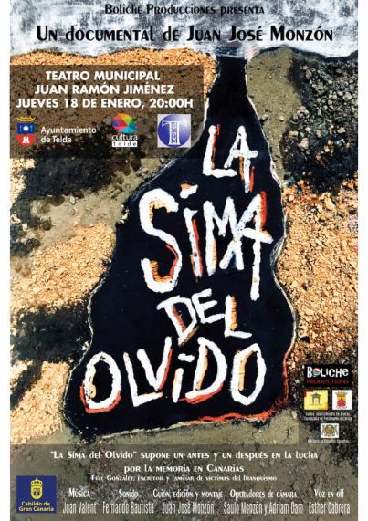 Un documental recuerda este jueves en el teatro municipal los crímenes en la Sima de Jinámar