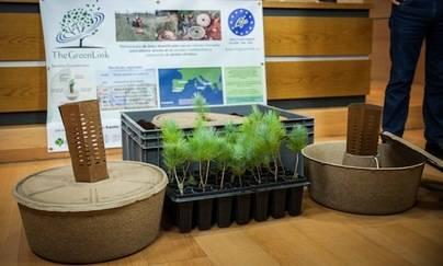 """Gran Canaria combatirá la desertificación con una """"caja de agua"""" 100 % biodegradable"""