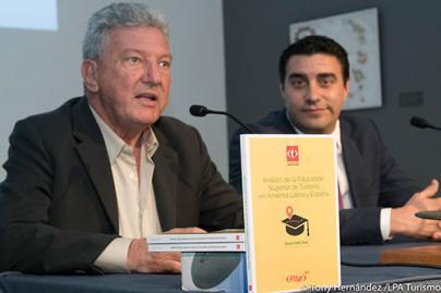 Pedro Quevedo pide la complicidad del mundo académico para construir destinos turísticos de calidad