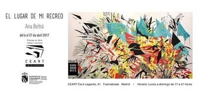 Ana Beltrá muestra 'El Lugar de Mi Recreo' en el CEART de Madrid