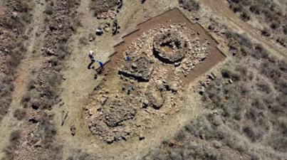 Hallan en Gran Canaria estructuras prehispánicas inéditas en forma de túmulo aunque no se usaron como sepultura