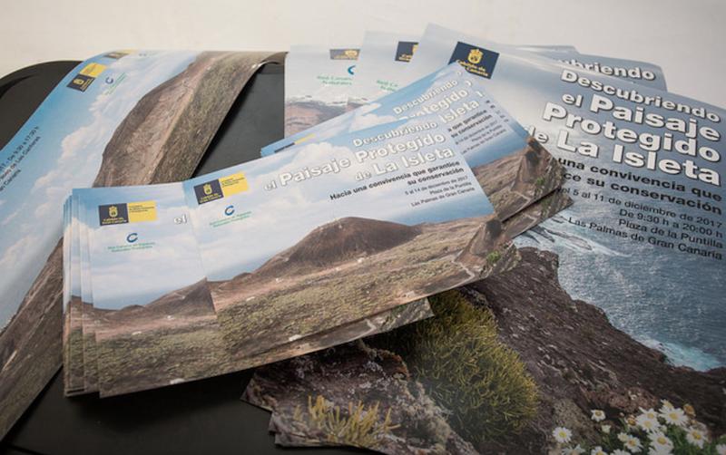 La Isleta, al descubierto en una exposición en La Puntilla