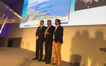 El proyecto de 'Isla Inteligente' del Cabildo La Palma primer premio del congreso mundial de 'Smart Islands'
