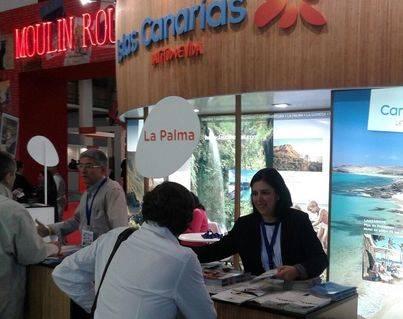 La Palma promociona su oferta turística en la Feria 'B-Travel' de Barcelona