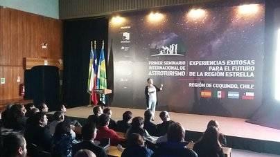 La Palma destaca en el Seminario Internacional de Astroturismo