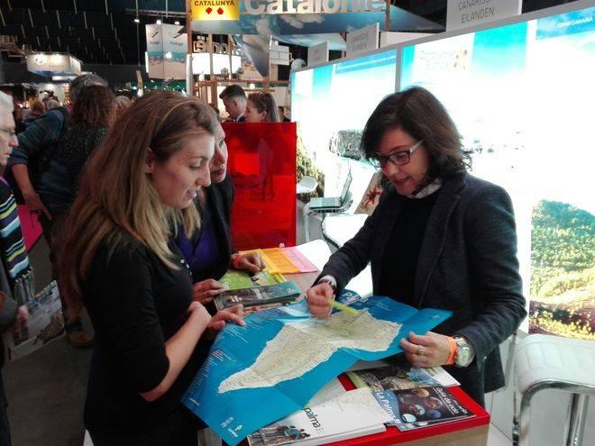 'La Palma Isla Bonita' se promociona en las ferias más importantes de Holanda y Austria