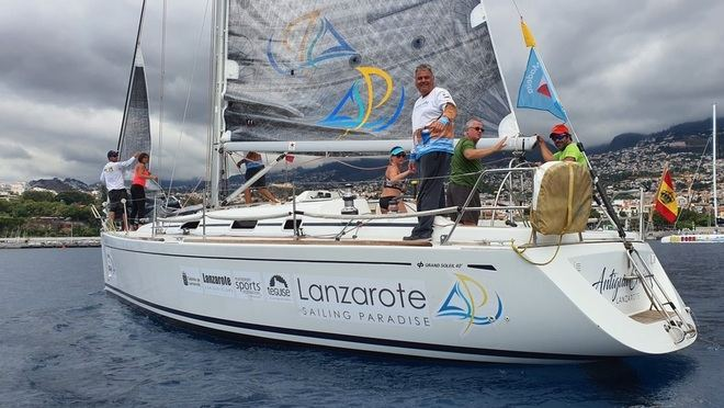 Lanzarote Sailing Paradise vencedor absoluto de la XXI Regata Internacional Canarias - Madeira