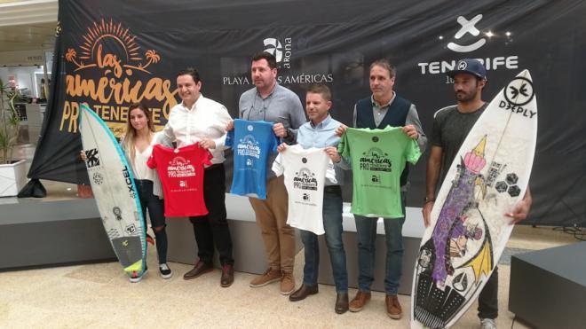 Arona devuelve a Canarias al circuito internacional de surf profesional