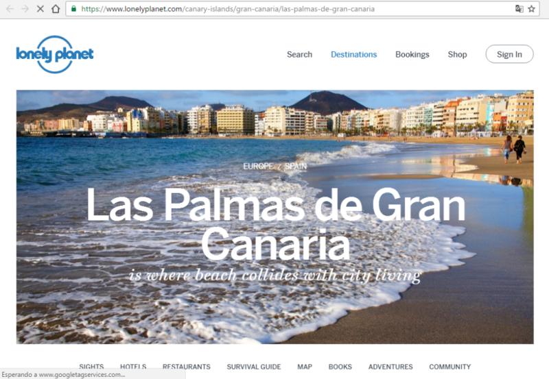 Las Palmas, una ciudad
