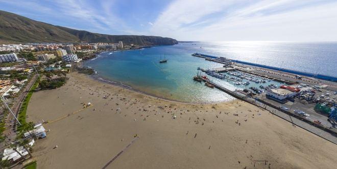 CC-PNC propone utilizar fondos europeos para resolver el colapso del puerto de Los Cristianos