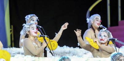 Las murgas infantiles abren los concursos del Carnaval chicharrero