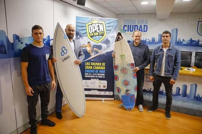 La playa de Las Canteras reúne a los mejores surfistas canarios en el Open LPA Surf City 2017