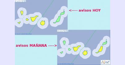 Gran Canaria y las islas occidentales del archipiélago en riesgo por lluvias