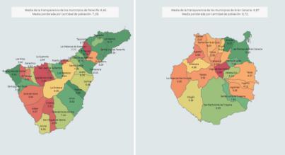 Los ayuntamientos de Tenerife y Gran Canaria aprueban por primera vez en transparencia