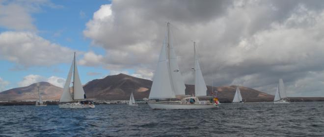 La flota zarpa de Marina Rubicón rumbo el Caribe