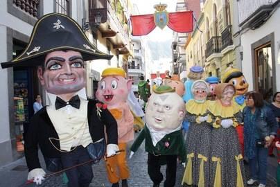 Los Mascarones tomarán las calles de Santa Cruz de La Palma