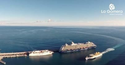 La Gomera espera superar los 95.000 cruceristas en la nueva temporada que comienza este sábado