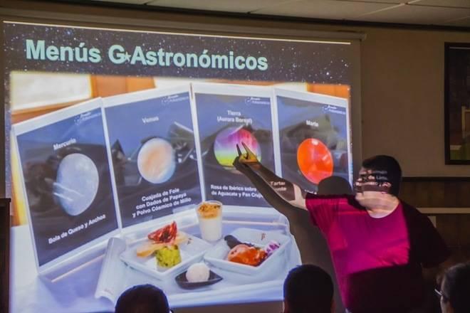 El Congreso Internacional 'Preserving the skies' se despedirá con la degustación de un menú 'G-Astronómico'