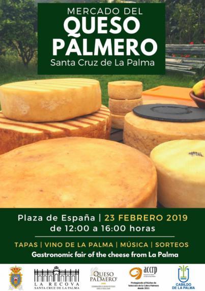 Santa Cruz de La Palma organiza el primer Mercado del Queso Palmero