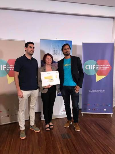 Mercedes Afonso premiada por su proyecto 'Sara y las Estrellas'