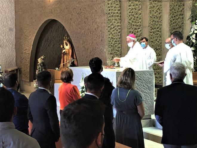 Inaugurada la nueva iglesia de Alcalá