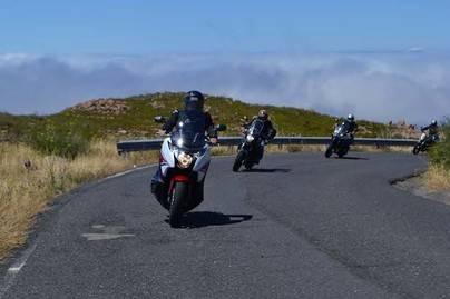 La Gomera celebra el Día Nacional de la Moto
