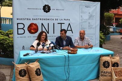 Los Realejos propone este sábado en San Agustín repostería y cocina con papa bonita y maridaje con vinos y música
