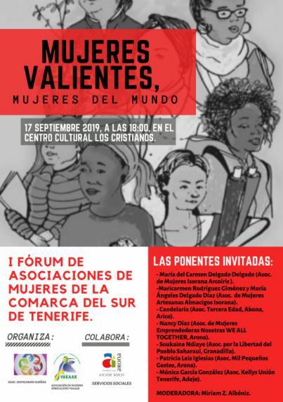Arona acoge el I Foro de Asociaciones de las Mujeres de la Comarca Sur de Tenerife
