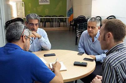 NC traslada a 'Canarios sin Alas' su compromiso con Rajoy para abaratar el avión a la Península