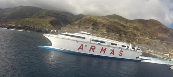 Naviera Armas conectará Gran Canaria y El Hierro los domingos
