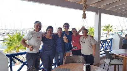La travesía contra el cáncer de Ocean Dream llega a Lanzarote