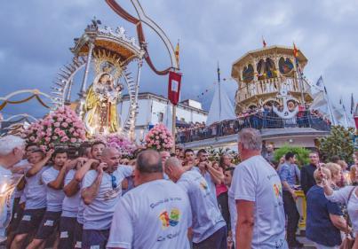 La Octava del Carmen unira Los Realejos y Puerto de la Cruz en su centenaria devoción
