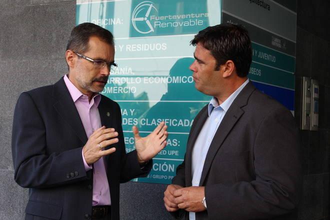 Fuerteventura Renovable aglutinará las acciones relacionadas con energías limpias