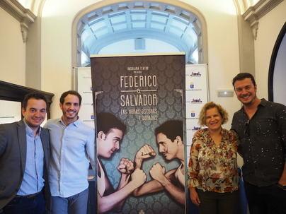 El amor oculto de dos grandes de la cultura española 'Federico & Salvador' se estrena en el Guiniguada
