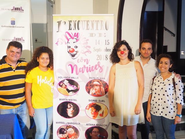 """El Teatro Guiniguada acoge la muestra """"Mujeres con narices"""""""