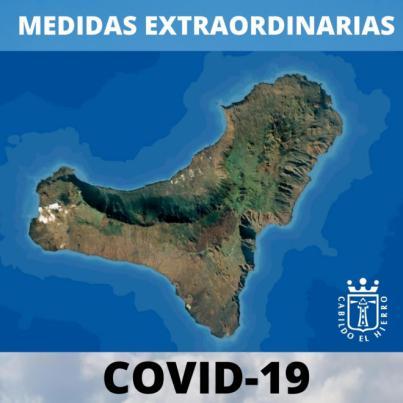 Cabildo de El Hierro decreta nuevas medidas frente al Covid