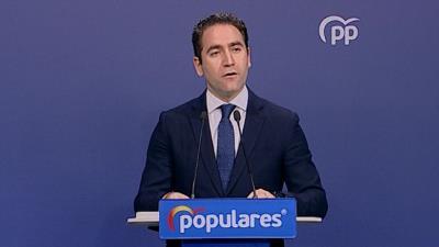 El PP dice que Sánchez 'debería pensar en irse' si pierde escaños