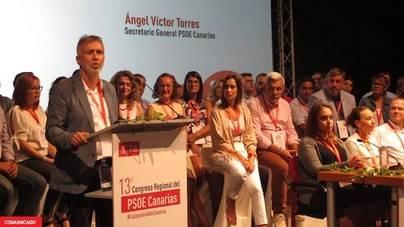 El PSOE de Canarias aprueba la nueva Ejecutiva Regional con el 69,63% de los votos