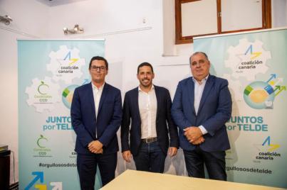 CC y CCD unen sus fuerzas en una alianza que apuesta por el desarrollo socioeconómico de Telde
