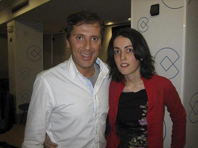 Paco González en una foto con la que supuestamente era su fan