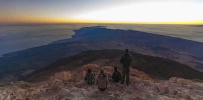 El Teide recibió más de cuatro millones de visitantes en 2016