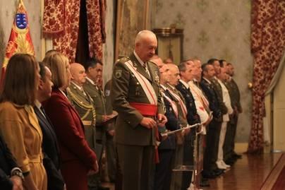 El Teniente General Pedro Galán García preside los actos de la Pascua Militar en Canarias