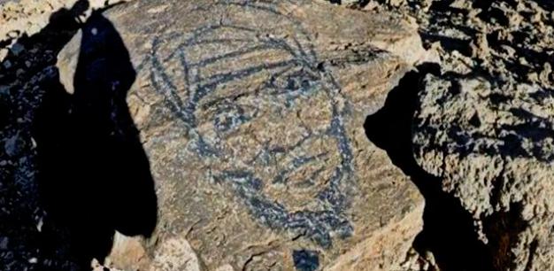 Las pintadas realizadas en el Teide denunciadas a la Guardia Civil