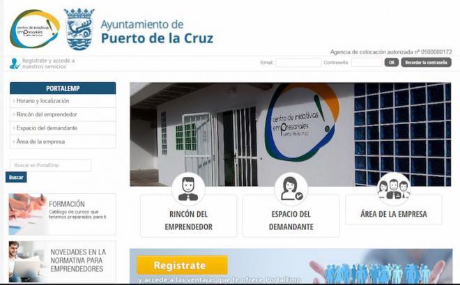 Nuevo portal de empleo en el Puerto de la Cruz