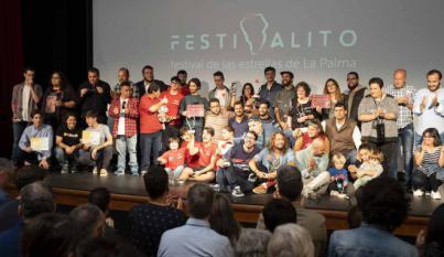 'Palmero', de Víctor Hubara, y 'Punto G', de José Manuel Marrero, se alzan con la Estrella del XIV Festivalito